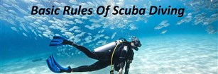 Main Rules Of Scuba Diving For Beginners