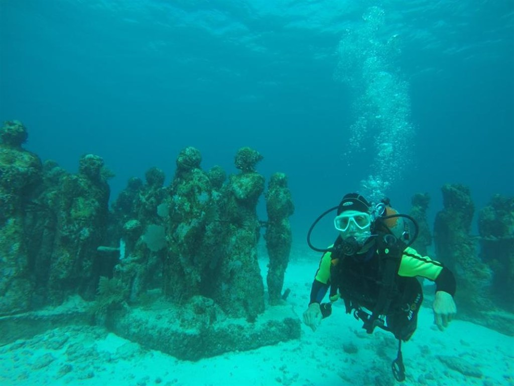 Diving Center Cancun's photo in MUSA Underwater Museum  in Mexico
