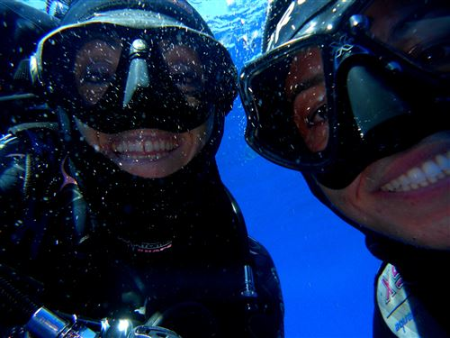 Scuba diving in Italy