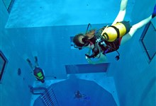 NEMO33 - World's deepest diving pool