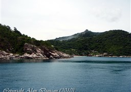 Scuba diving in Aow Leuk Bay in Thailand