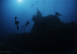 Scuba diving in Satil, Eilat in Israel