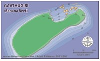 Dive site Banana Reef plan