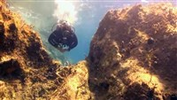 Dive site Down to the Ancient Thera plan