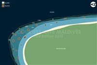 Dive site Isdhoo East plan
