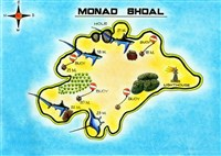 Dive site Monad Shoal plan